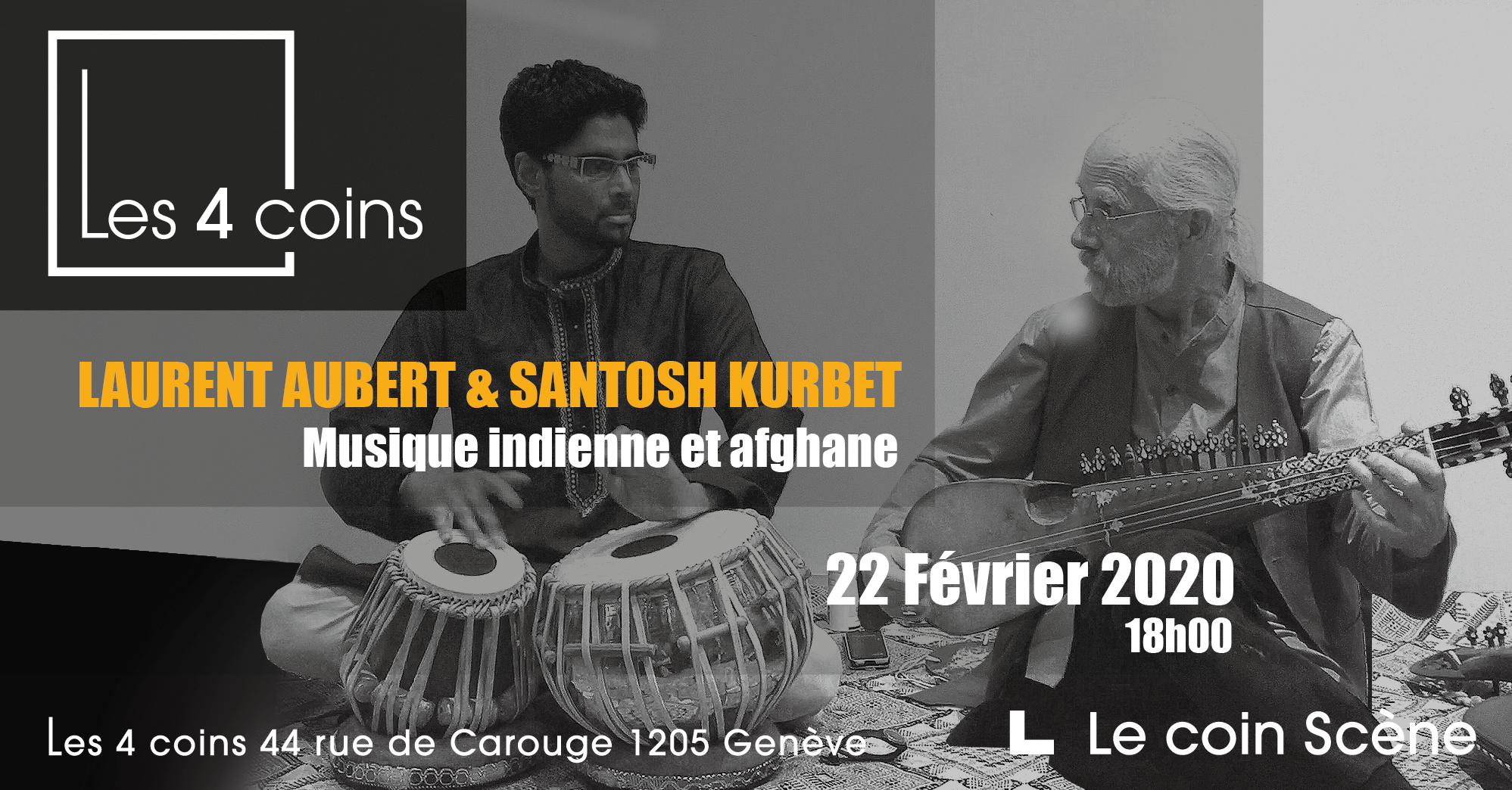 Laurent Aubert & Santosh Kurbet – LIVE
